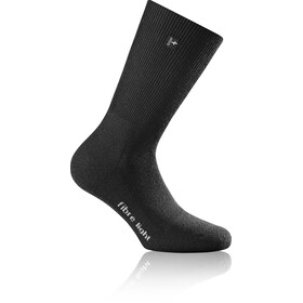 Rohner Fibre Light Quarter Socks black